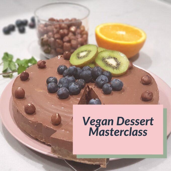 Vegan Dessert Class Ad