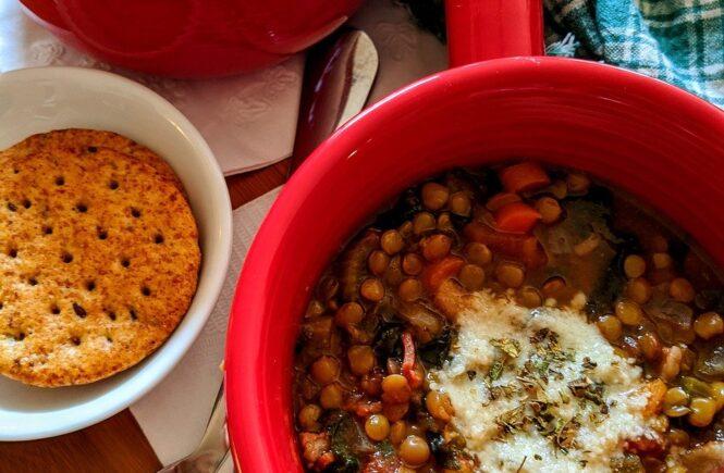 lentil soup, soup, lentils