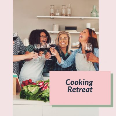 Cooking Retreat Web box