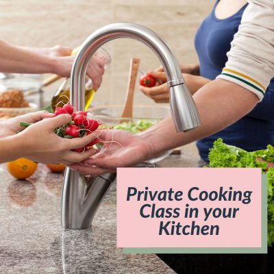 Cooking class in your kitchen web button